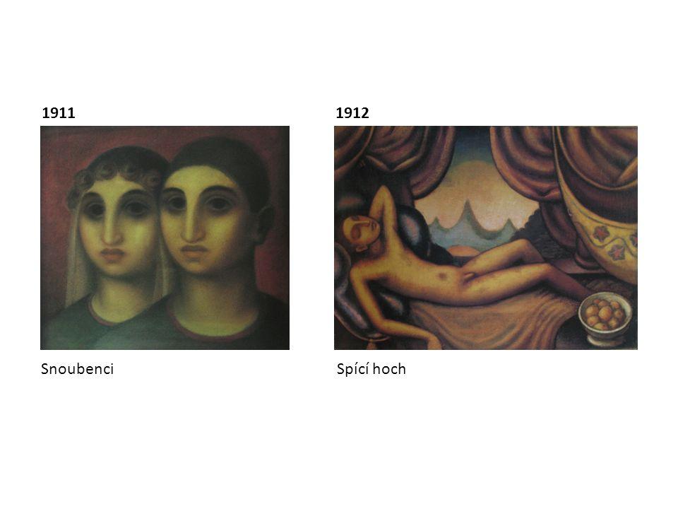 Snoubenci Spící hoch 19111912
