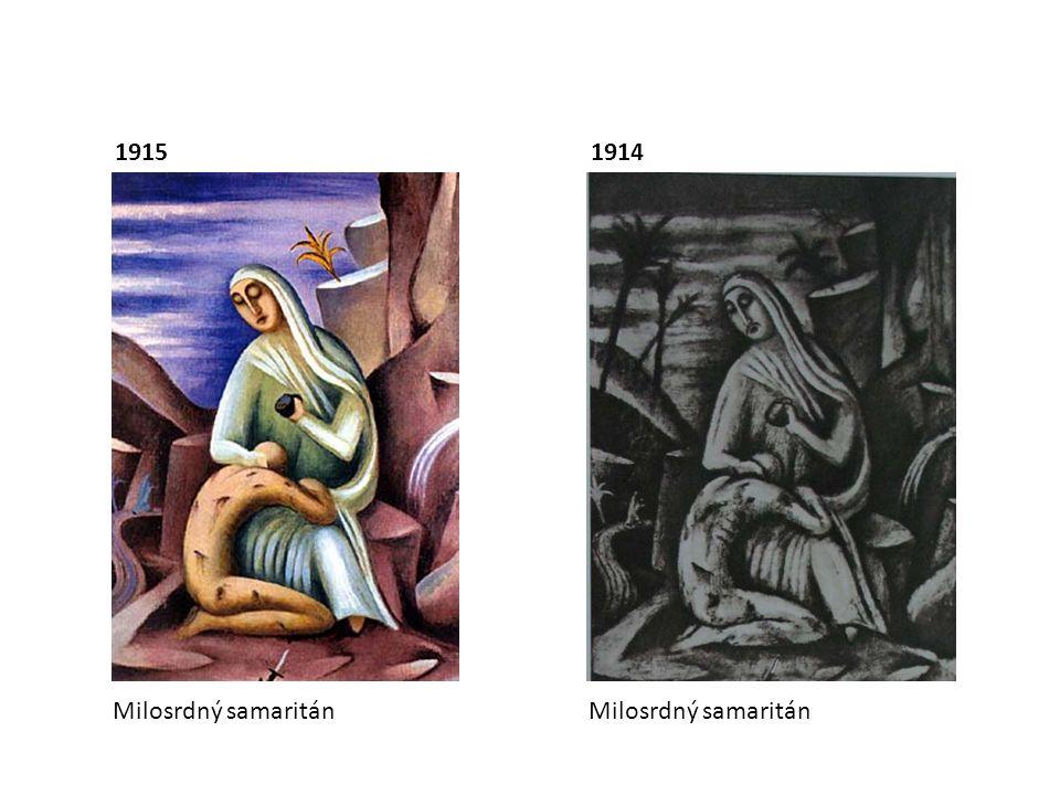19151914 Milosrdný samaritán