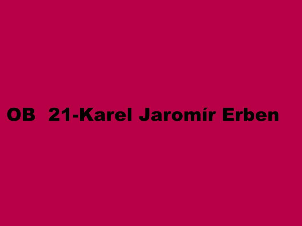 OB 21-Karel Jaromír Erben