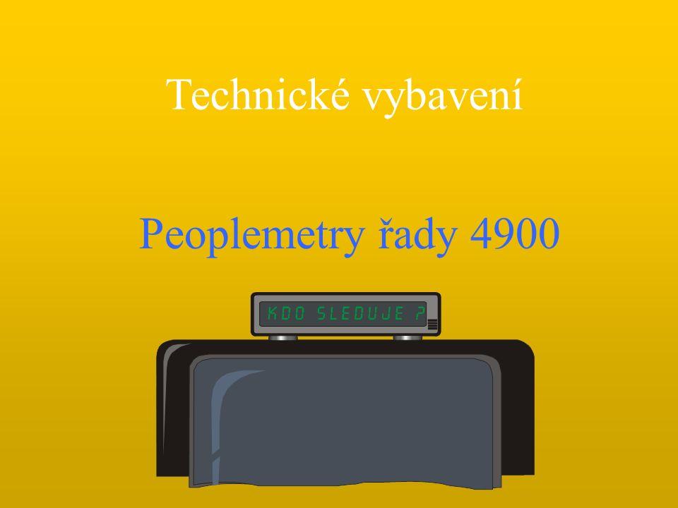 Peoplemetry řady 4900 Technické vybavení