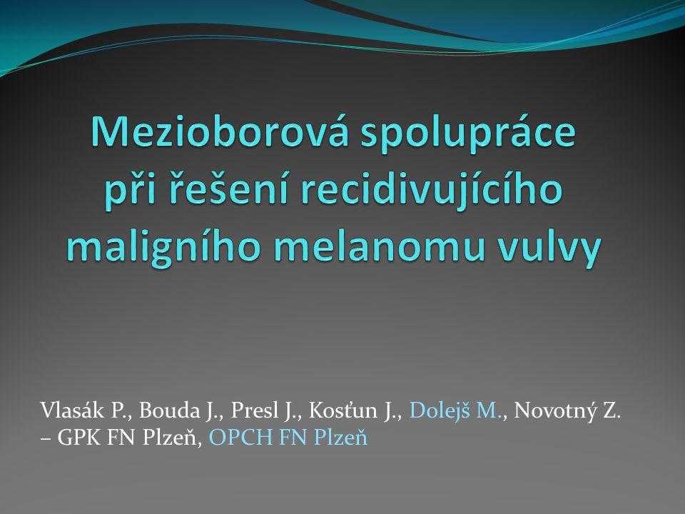 Vlasák P., Bouda J., Presl J., Kosťun J., Dolejš M., Novotný Z. – GPK FN Plzeň, OPCH FN Plzeň