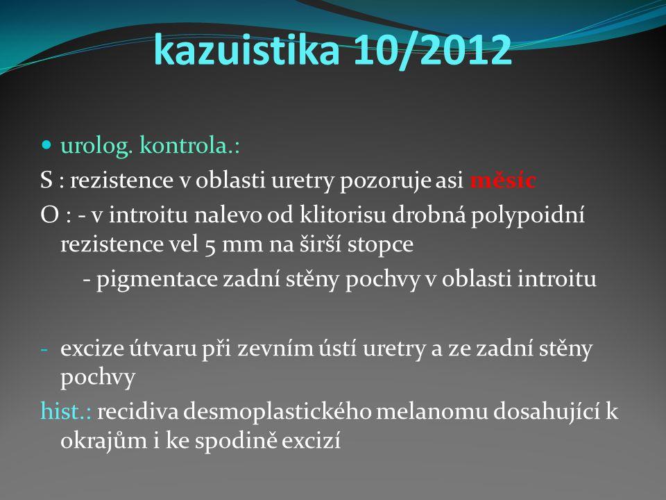 kazuistika 10/2012 urolog.