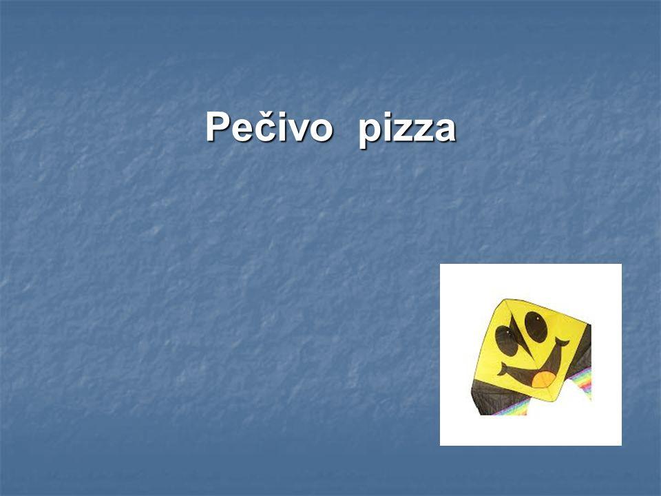 Pečivo pizza