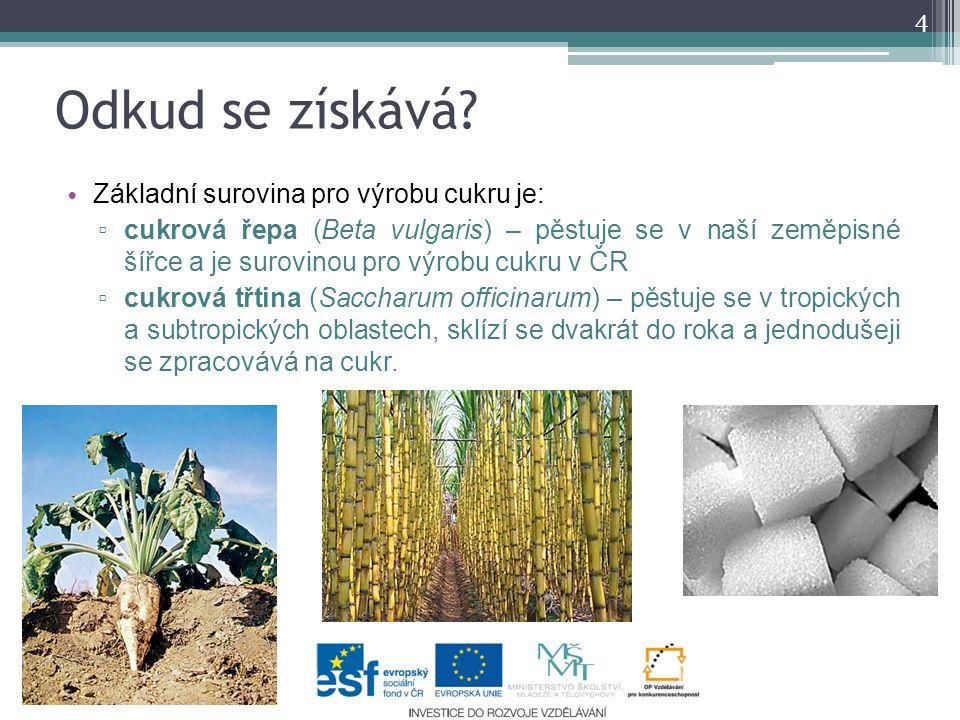 Výroba cukru I.Cukr se vyrábí v CUKROVARU. Řepa se nejprve v mechanické pračce zbavuje nečistot.