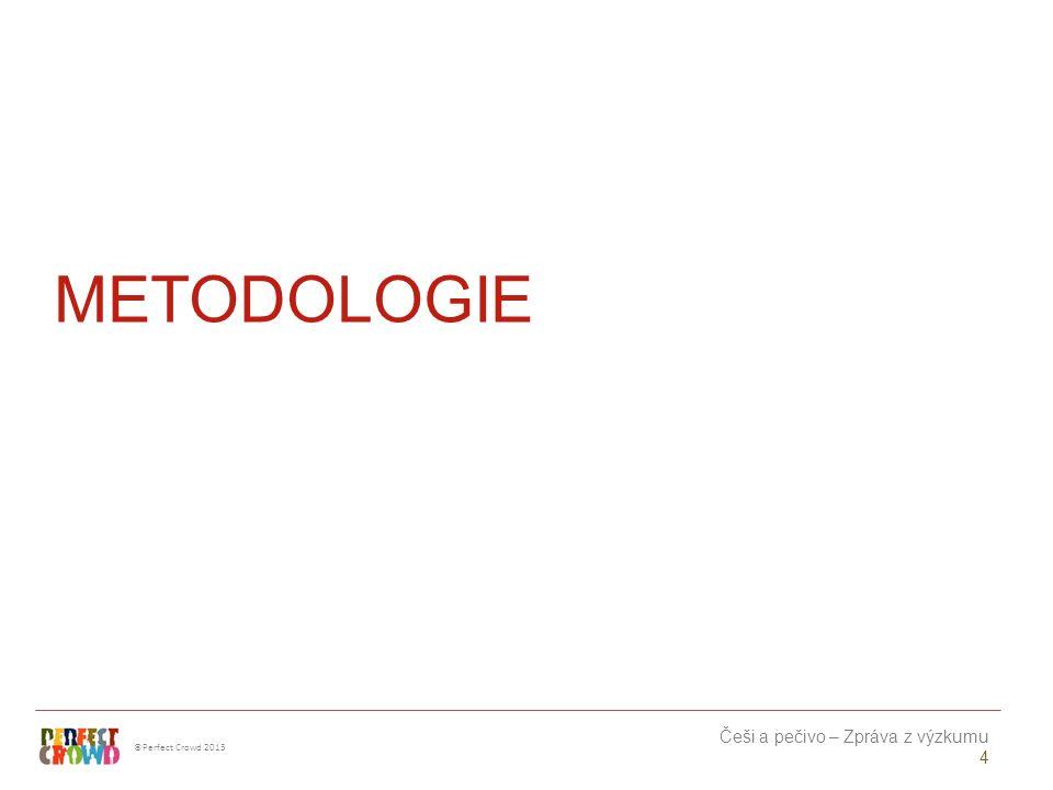 ©Perfect Crowd 2013 Češi a pečivo – Zpráva z výzkumu 5 VZOREK Metoda: Kvantitativní online výzkum s kvalitativními prvky.