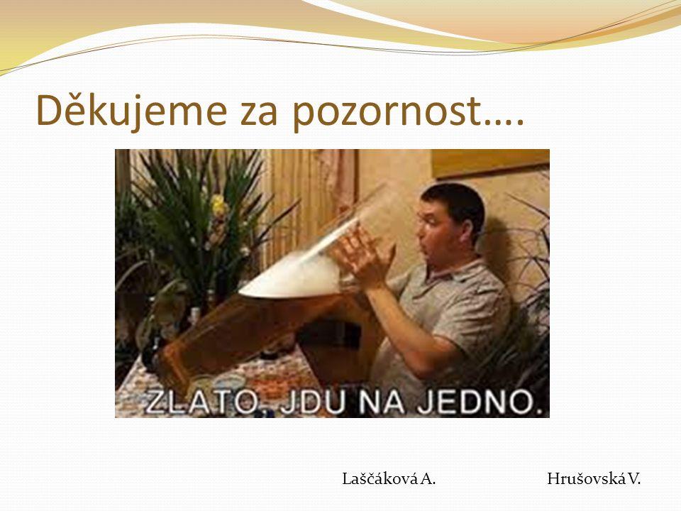 Děkujeme za pozornost…. Laščáková A. Hrušovská V.