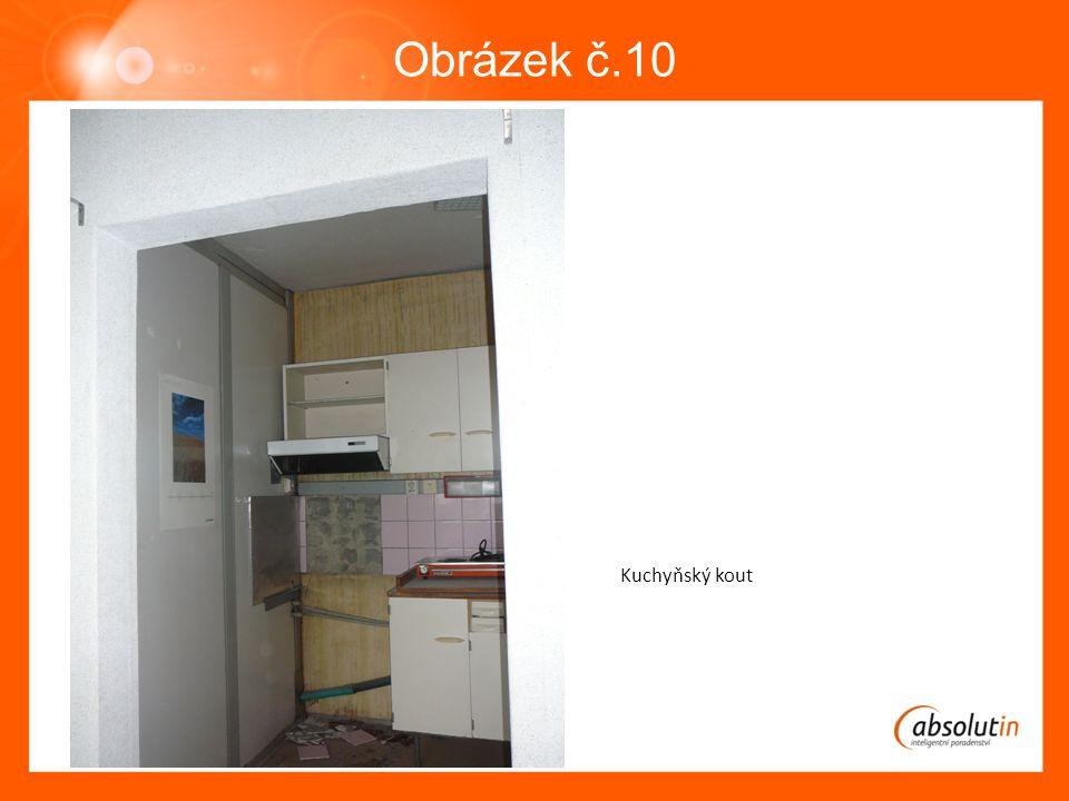Obrázek č.10 Kuchyňský kout