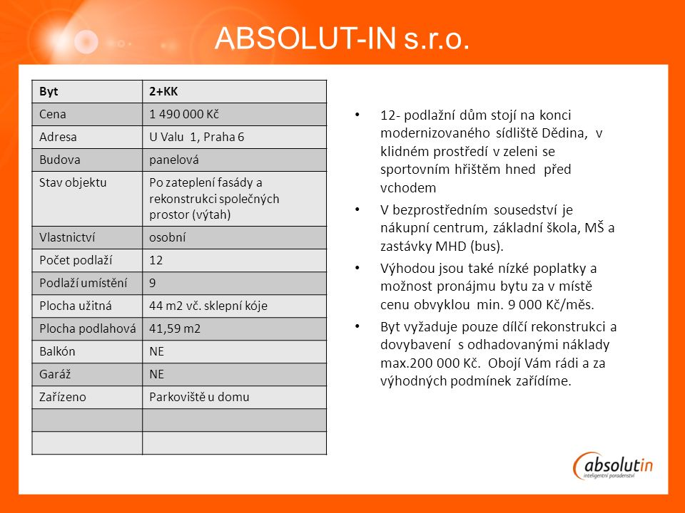 ABSOLUT-IN s.r.o.