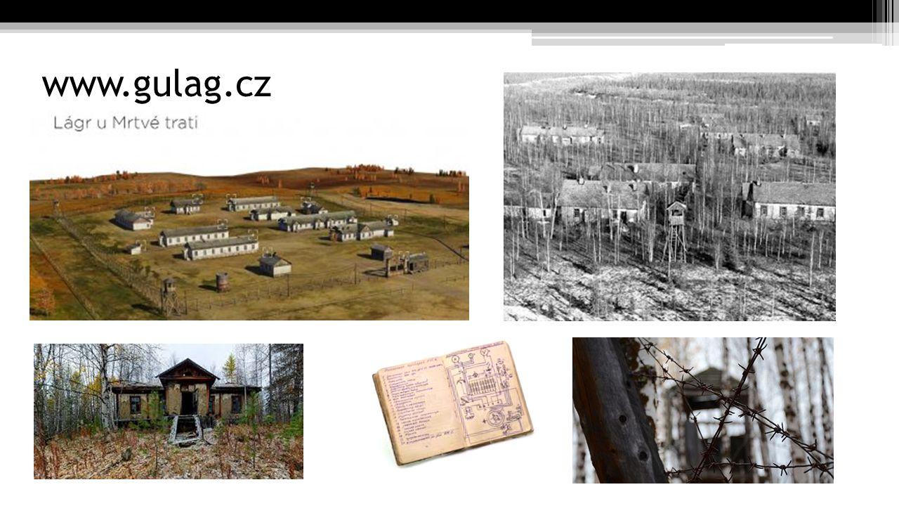 """Vězeňské tábory Norilsk (převoz z Lubjanky, otřesné podmínky, v kupé 20 lidí) Tranzitní vězení ve Vologdě – 50 lidí v cele /političtí vězňové, zloději Z Vologdy na Sibiř (opět strašné podmínky, horko a dusno, jídlo nepravidelně, voda jen jednou za den) """"Nicméně o hygieně, ani v tom nejzákladnějším slova smyslu, nebylo ani řeči."""