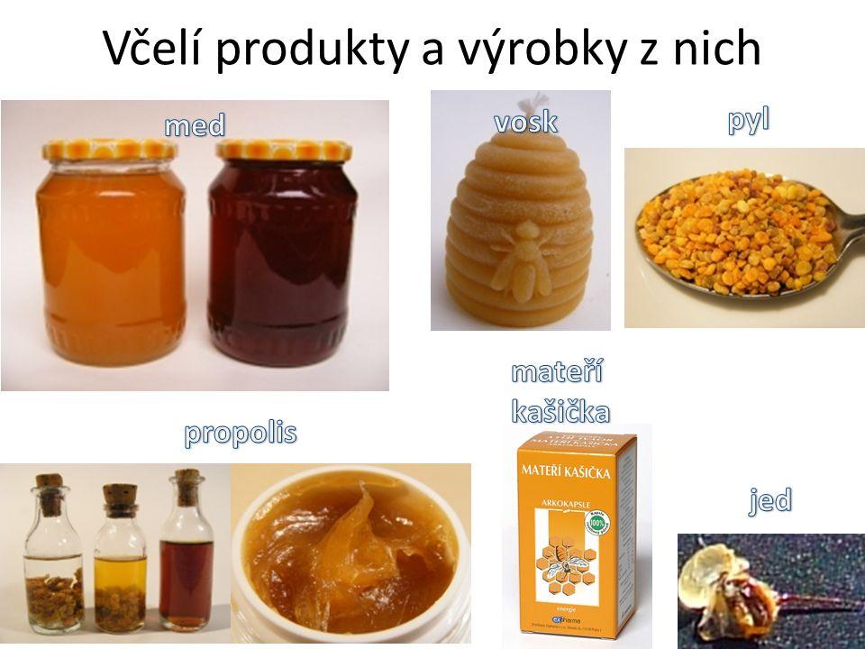 Včelí produkty a výrobky z nich