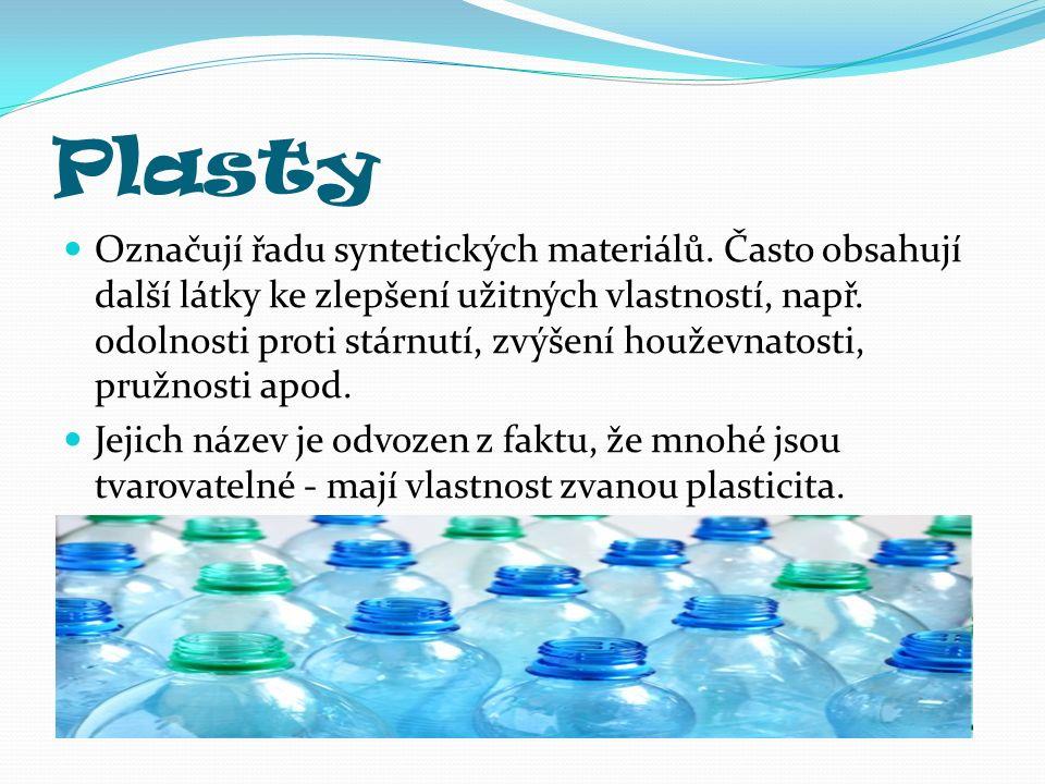 Anotace Prezentace seznamuje žáky druhého stupně základní školy s vynálezem plastů.
