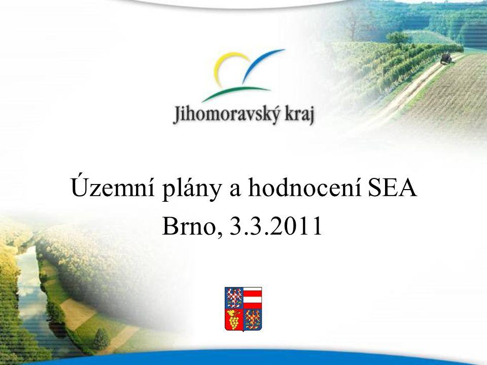 Územní plány a hodnocení SEA Brno, 3.3.2011