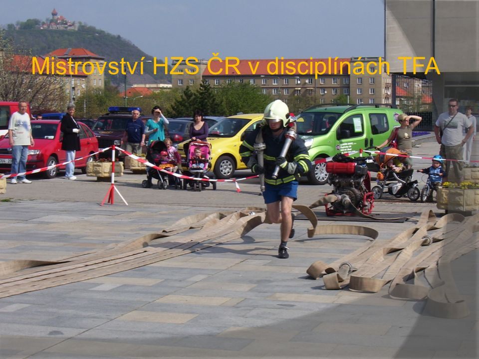 Mistrovství HZS ČR v disciplínách TFA