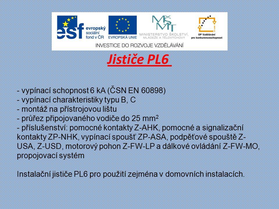 Jističe PL6