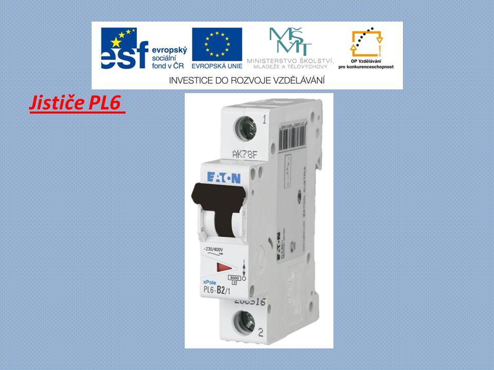 Jističe PLHT - vypínací schopnost 15 až 25 kA (ČSN EN 60947-2) - vypínací charakteristiky typu B, C, D - jmenovitý proud až 125A - montáž na přístrojovou lištu - průřez připojovaného vodiče do 50 mm 2 - barevné ovládací páčky podle jmenovitého proudu - příslušenství: pomocné kontakty Z-LHK, vypínací spoušť Z-LHASA, modul proudového chrániče PBHT Výkonová řada instalačních jističů PLHT s univerzálním použitím.