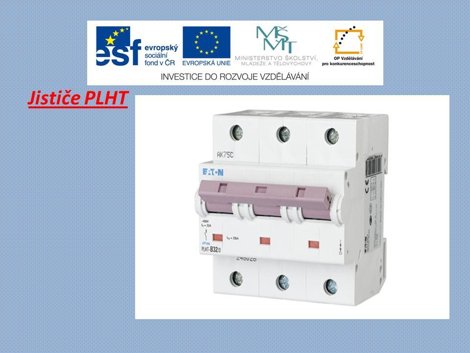 Modul proudového chrániče PBHT - pro kombinaci s jističem PLHT - jmenovitý proud 80 a 125 A - reziduální proudy 30 mA až 1 A - typ chrániče A, S/A - 4pólové provedení - zkratová odolnost 15 – 25 kA (dle PLHT)