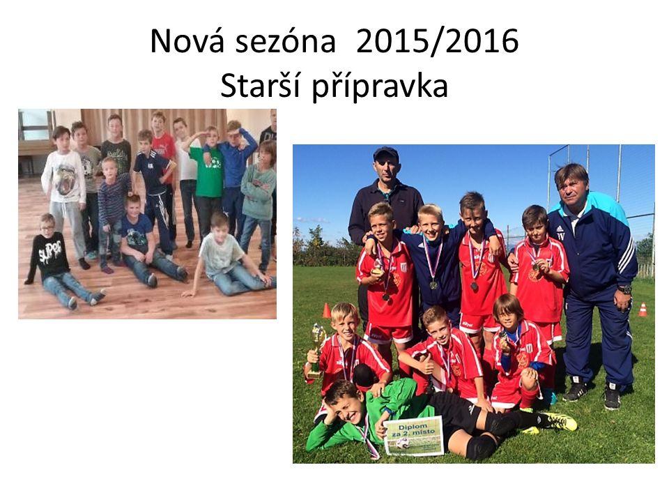 Nová sezóna 2015/2016 Starší přípravka