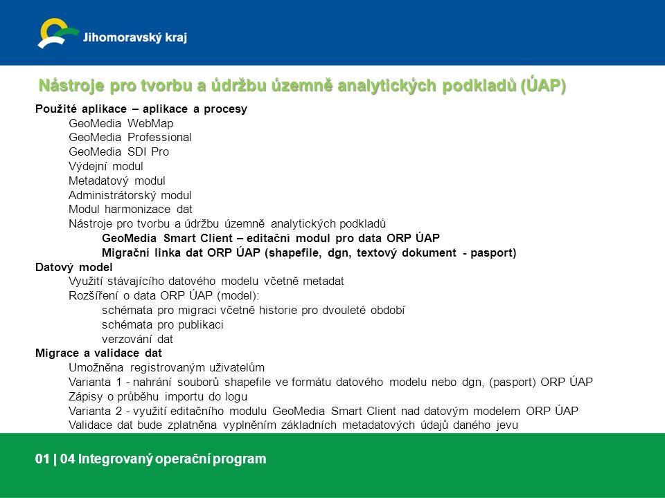 01 |01 | 05 Integrovaný operační program