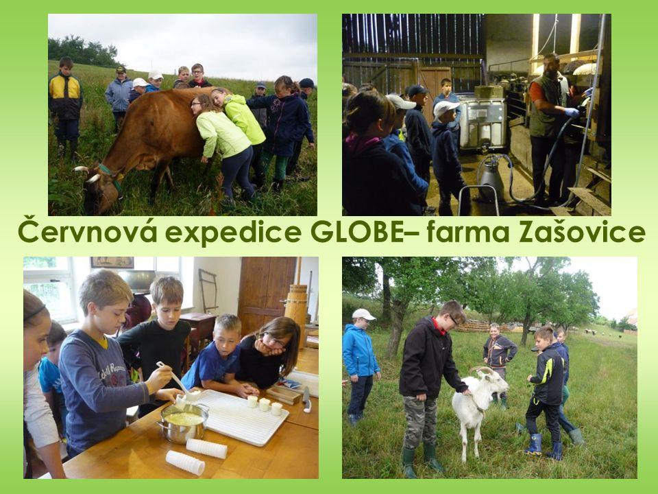 Červnová expedice GLOBE– farma Zašovice