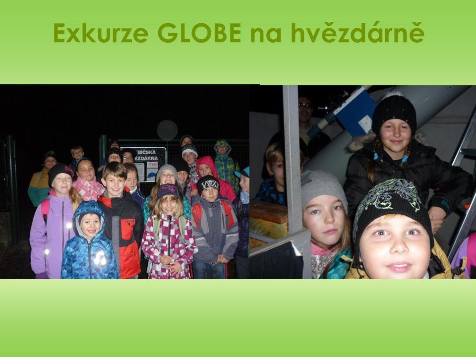 Exkurze GLOBE na hvězdárně