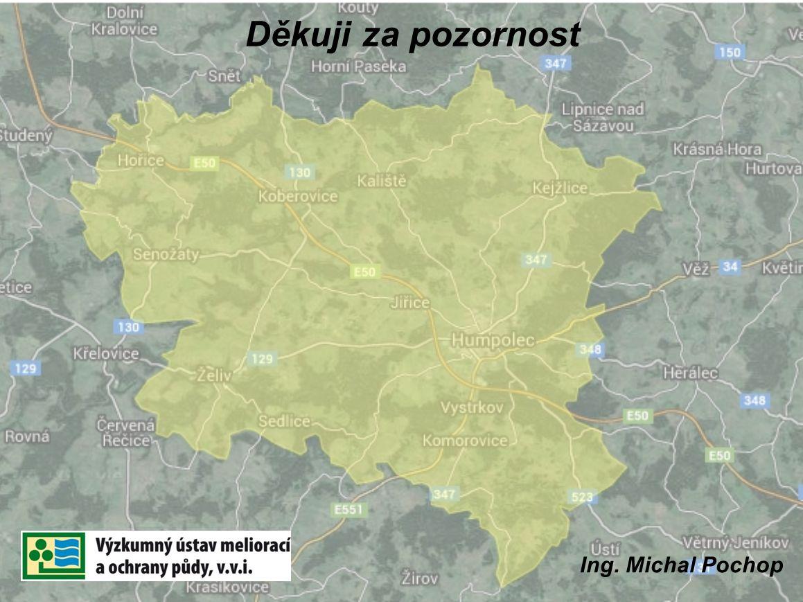 Děkuji za pozornost Ing. Michal Pochop