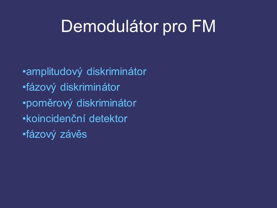 Obvody automatického doladění frekvence AFC (Automatic Frequency Control) - zabraňuje rozlaďování přijímače v důsledku nestability kmitočtu oscilátoru.