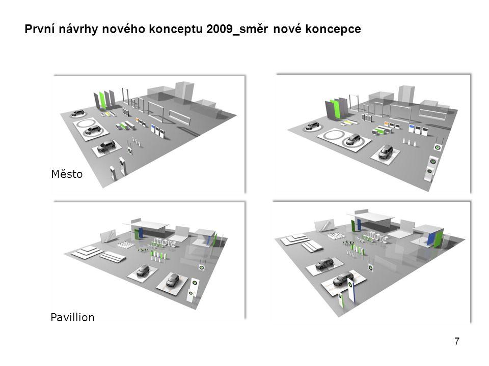 Město Pavillion První návrhy nového konceptu 2009_směr nové koncepce 7