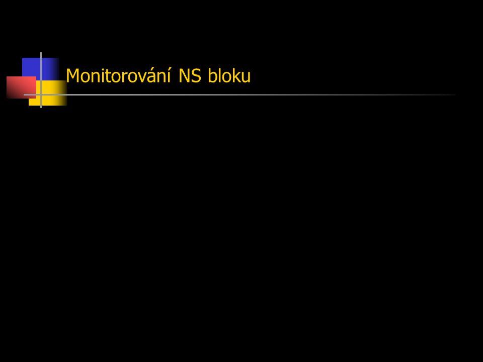 Monitorování NS bloku