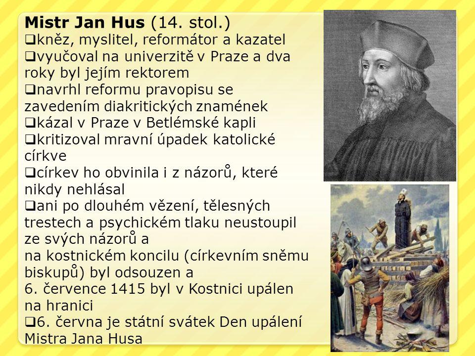 Mistr Jan Hus (14.
