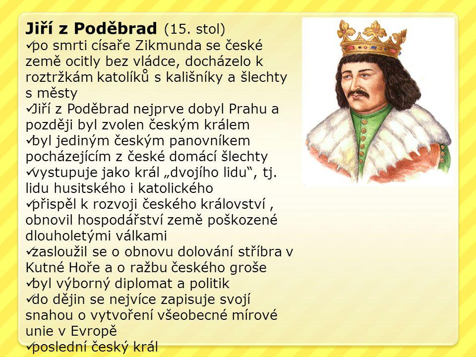 Jiří z Poděbrad (15.