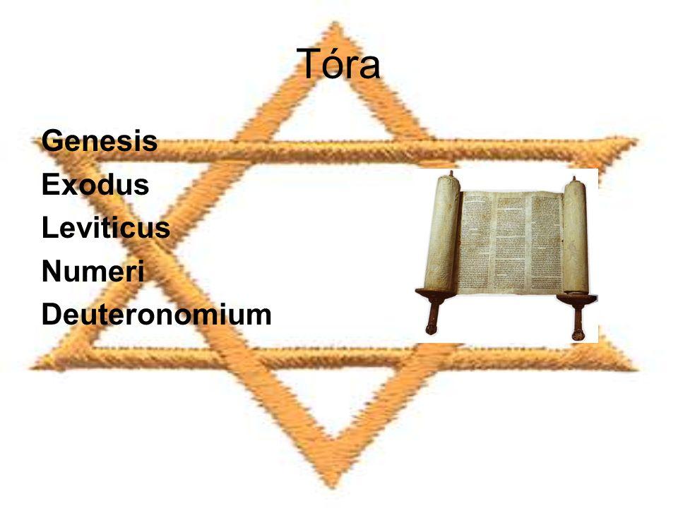 Tóra Genesis Exodus Leviticus Numeri Deuteronomium