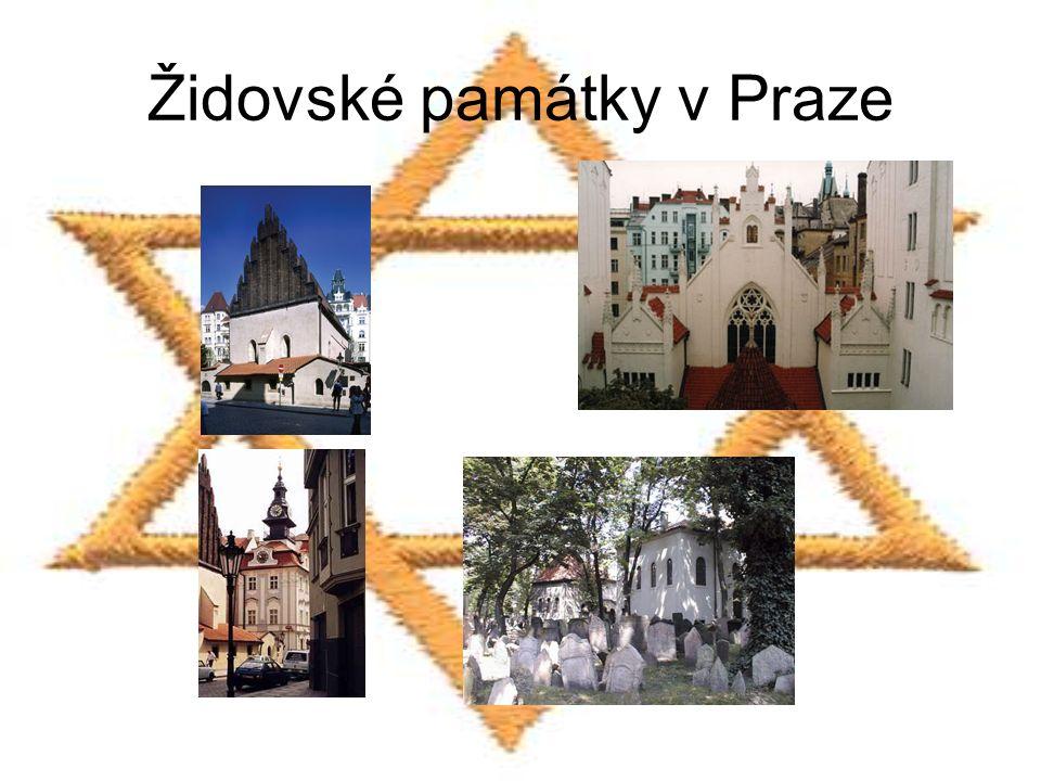 Židovské památky v Praze