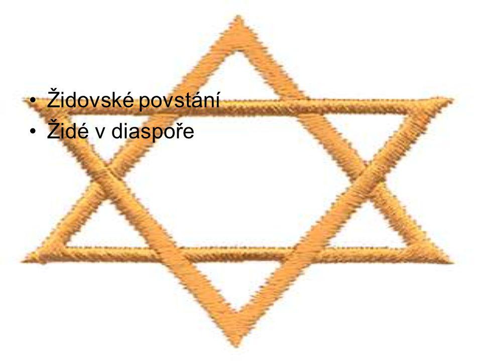 Židovské povstání Židé v diaspoře