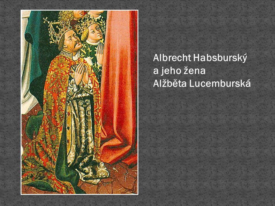 Snímek 4: Albrecht Habsburský.