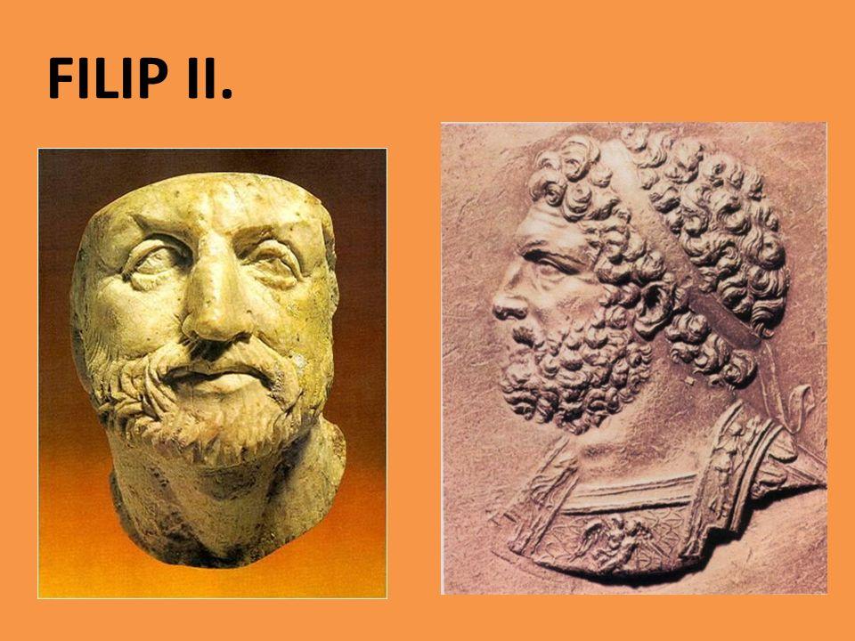 Konec peloponéské války V Řecku zavládá zmatek Athéňané vidí východisko ve spojenectví s Makedonií a jejich společného útoku na Persii Makedonská armáda porazila řecká vojska Filip II.
