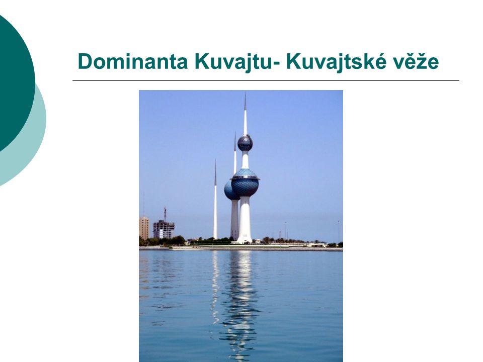Dominanta Kuvajtu- Kuvajtské věže