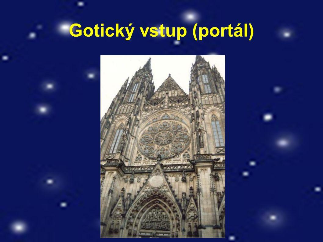 Gotický vstup (portál)