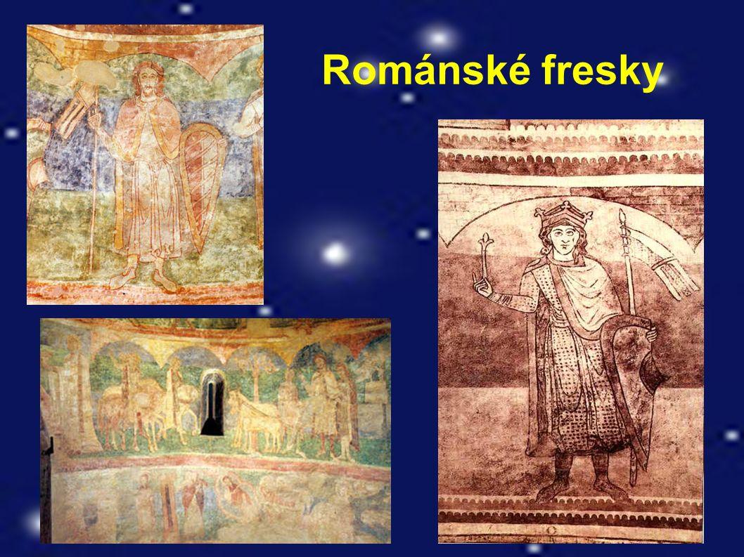 Románské fresky
