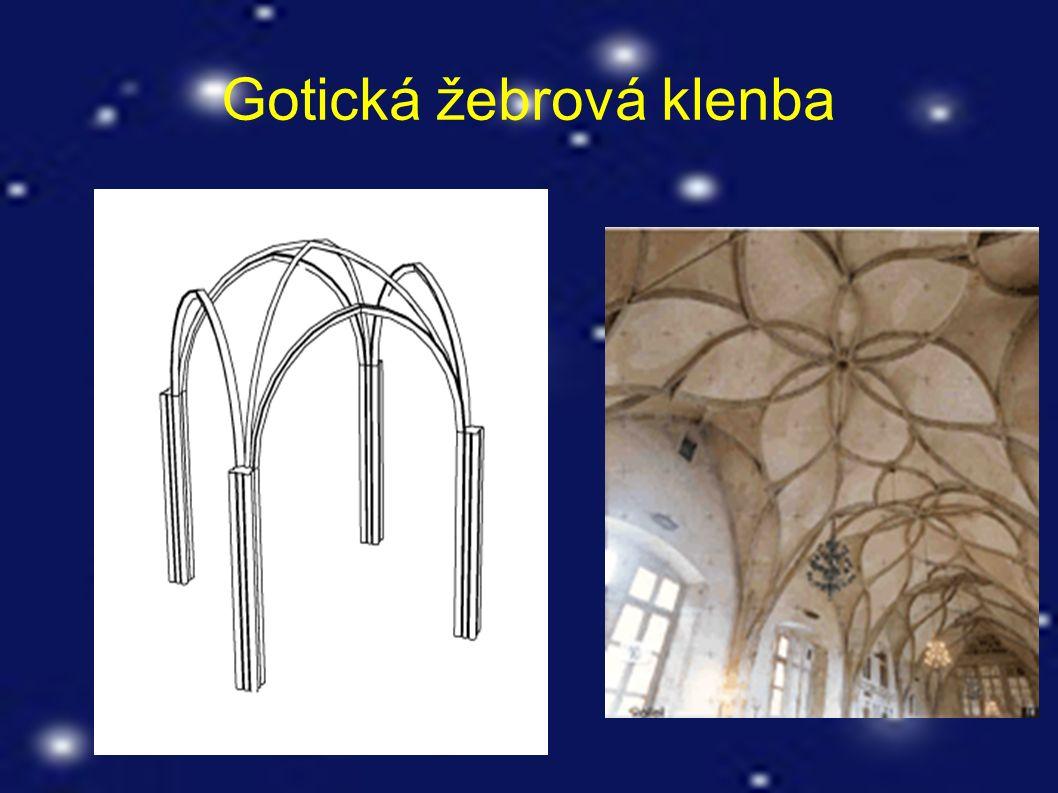 Gotická žebrová klenba
