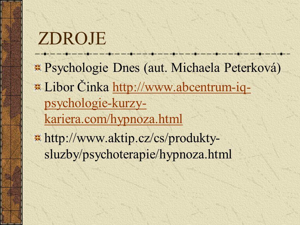 ZDROJE Psychologie Dnes (aut.