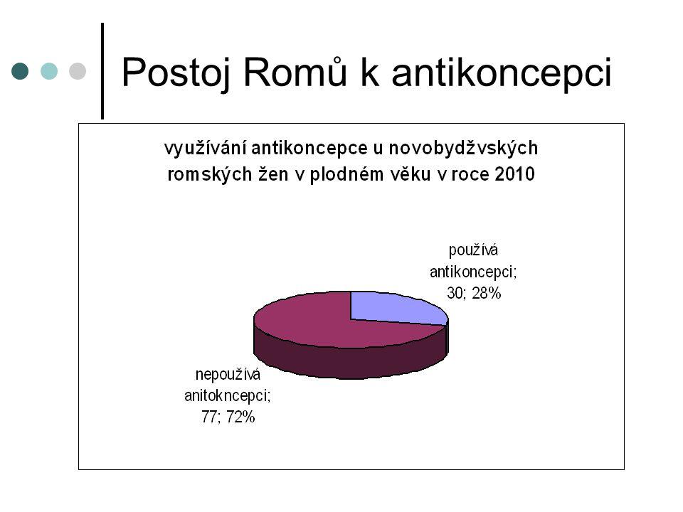 Postoj Romů k antikoncepci