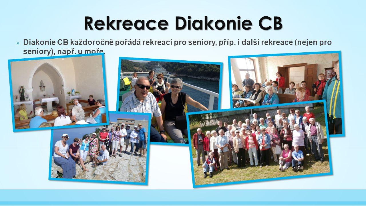 » Diakonie CB každoročně pořádá rekreaci pro seniory, příp.