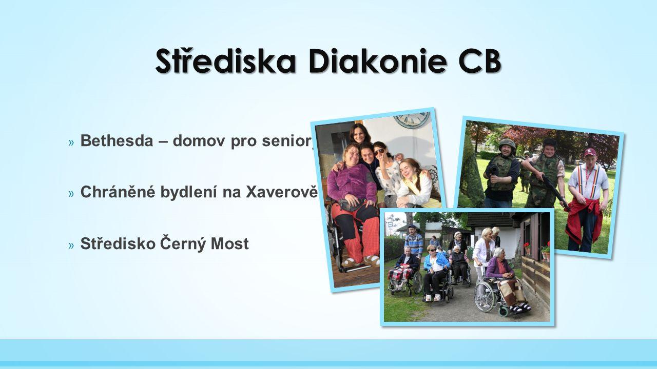 Střediska Diakonie CB » Bethesda – domov pro seniory » Chráněné bydlení na Xaverově » Středisko Černý Most