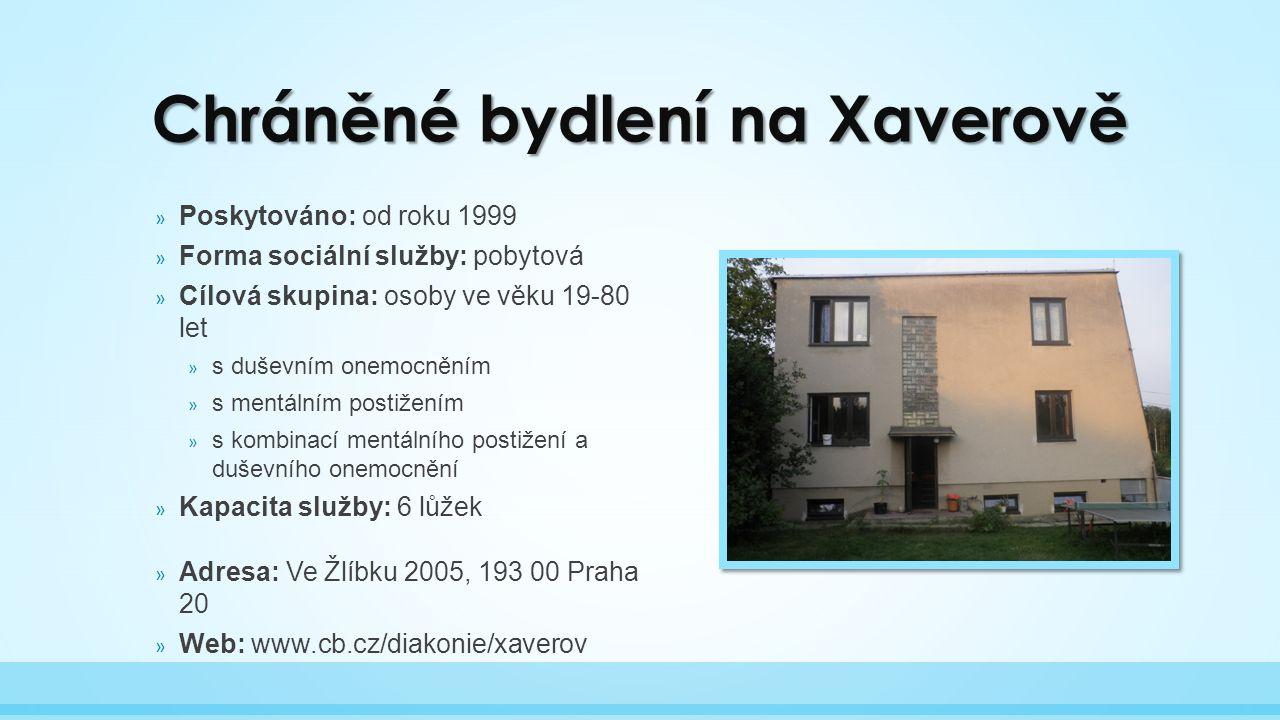 Chráněné bydlení na Xaverově