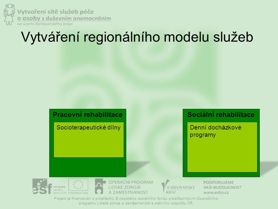 Case management Vytváření regionálního modelu služeb