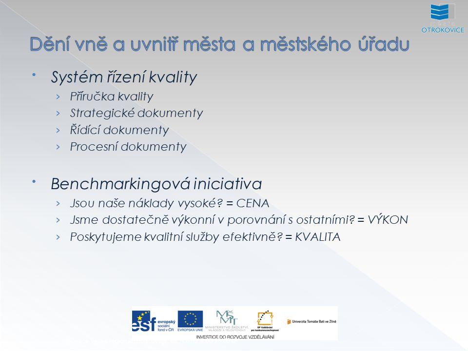 Inovace výuky regionálního rozvoje, CZ.1.07/2.2.00/28.0012 Komunikace města se svým okolím Komunikace s veřejností Sociální sítě Popularita Dostupnost Sledovanost Správný výběr informací Propojenost