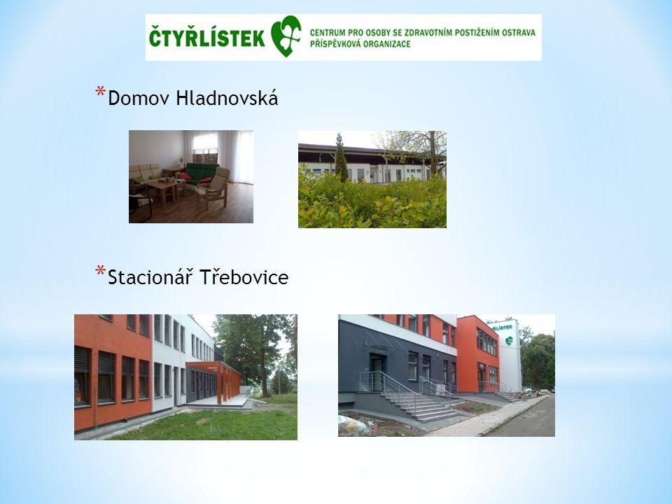 * Domov Hladnovská * Stacionář Třebovice