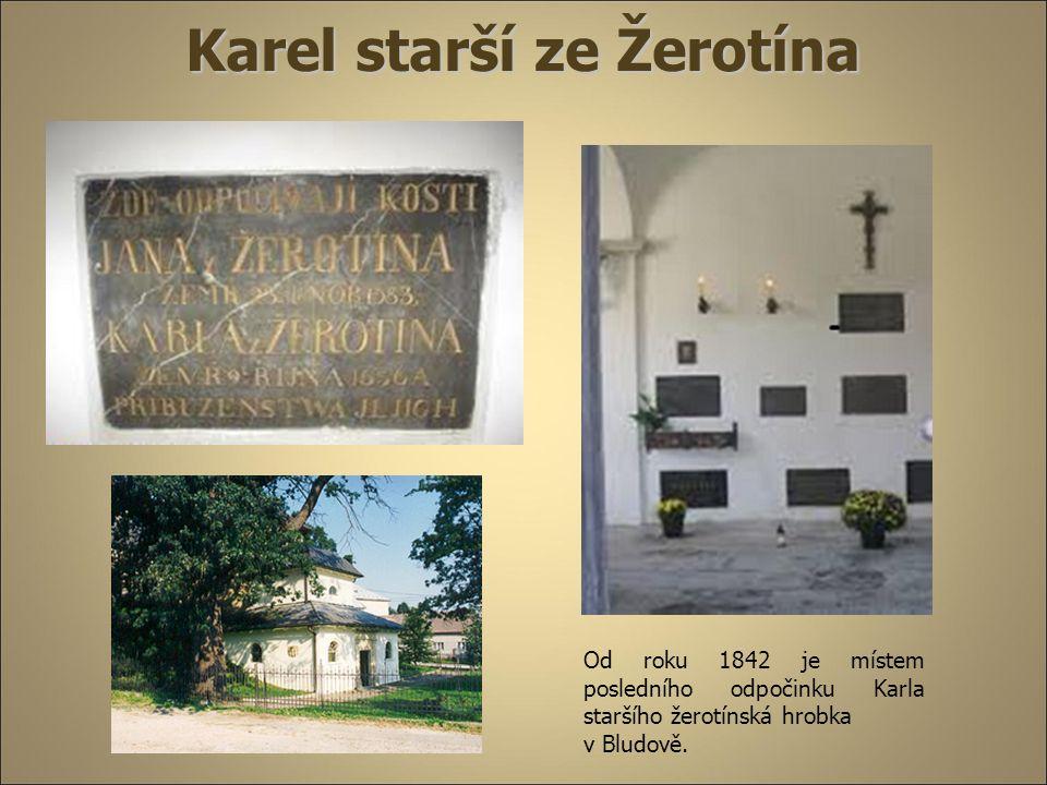 Karel starší ze Žerotína Veřejná a politická činnost  r.