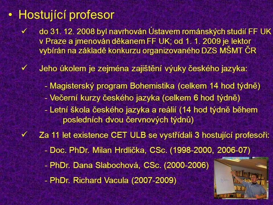 Hostující profesor do 31. 12.