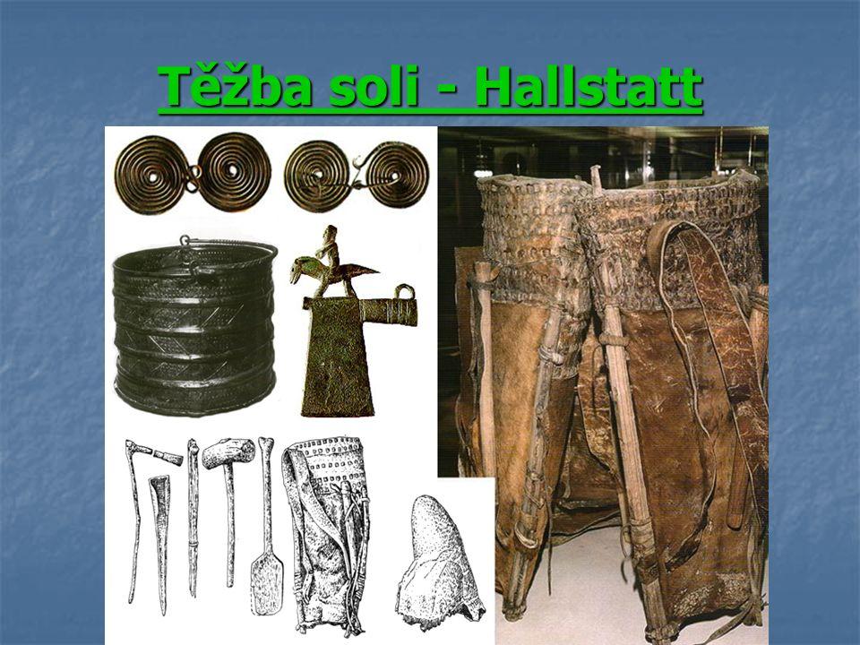 Těžba soli - Hallstatt